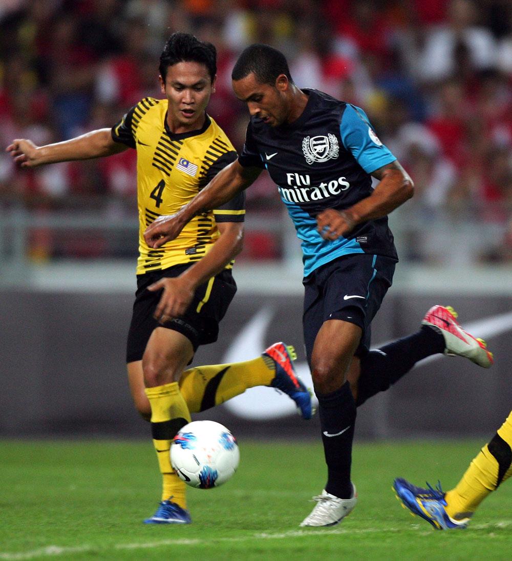 Malaysia XI v Arsenal