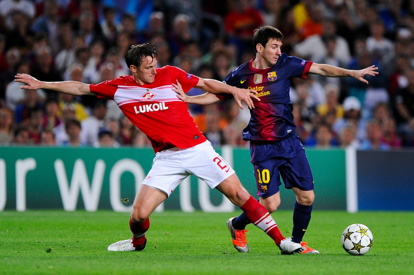 FC Barcelona v FC Spartak Moscow - UEFA Champions League